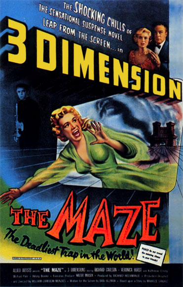 The Maze (1953) poster